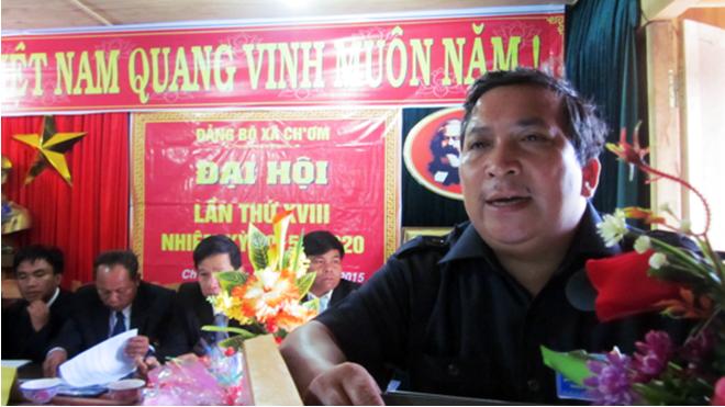 ông Bh'riu Liếc, Bí thư Huyện ủy Tây Giang