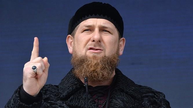 Lãnh đạo Chechen (Ảnh: Sputnik)