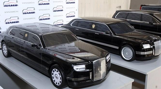 Limousine hiệu Kortezh của Nga - Ảnh: Sputnik