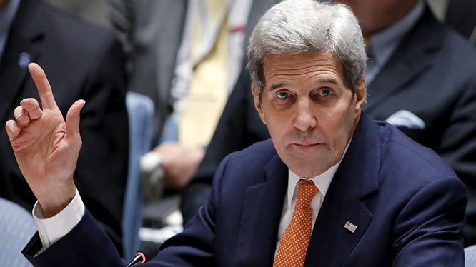 Ngoại trưởng Mỹ John Kerry (Ảnh: Eduardo Munoz/Reuters)