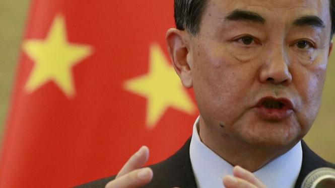 Ngoại trưởng Trung Quốc Vương Nghị loại bỏ vấn đề tranh chấp Biển Đông ra khỏi chương trình nghị sự của G20 - Ảnh: Reuters