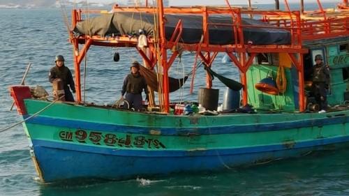 Thái Lan lại bắt 33 ngư dân Việt Nam