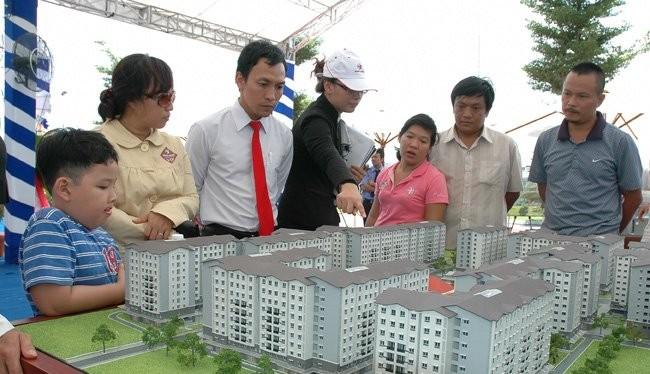 Giá bán nhà ở tại Hà Nội trong quý I/2016 tiếp tục tăng. Ảnh: Đức Thanh