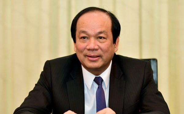 Bộ trưởng, Chủ nhiệm Văn phòng Chính phủ Mai Tiến Dũng. (Nguồn: VGP)
