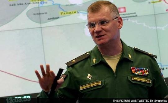Thiếu tướng Igor Konashenkov. Ảnh: Twitter