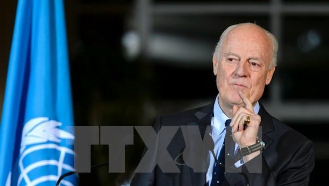 Đặc phái viên Liên hợp quốc về Syria Staffan de Mistura. (Nguồn: AFP/TTXVN)
