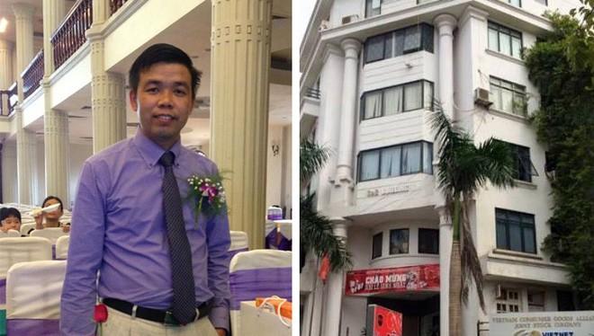 Vũ Ngọc Thuyển và trụ sở Cty đa cấp Liên minh tiêu dùng Việt Nam
