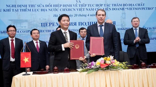 Việt-Nga thống nhất tiếp tục hợp tác thăm dò khai thác dầu khí.