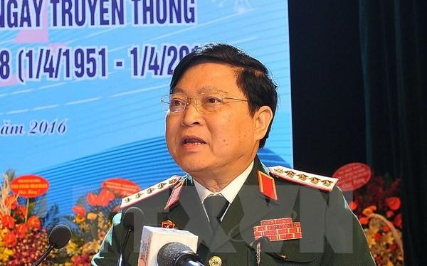 Đại tướng Ngô Xuân Lịch. (Ảnh: Trọng Đức/TTXVN)