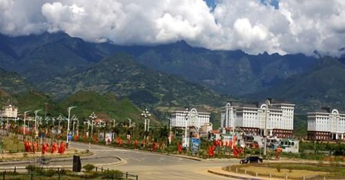 Một góc thành phố Lai Châu.