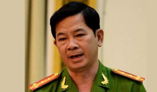 Đại tá Nguyễn Văn Quý - Trưởng Công an huyện Bình Chánh. Ảnh: Tuổi Trẻ