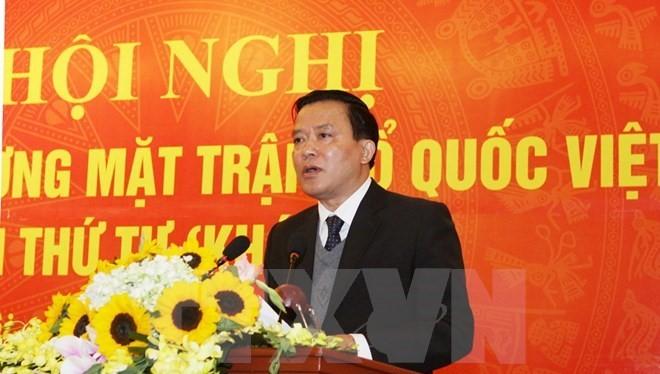 Phó Chủ tịch Ủy ban Trung ương MTTQ Việt Nam Nguyễn Văn Pha.