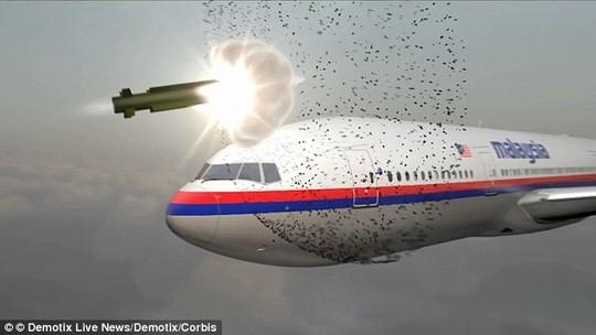 Nhiều bằng chứng mới cho thấy khả năng máy bay chiến đấu Ukraine dùng tên lửa bắn hạ chiếc MH17. Ảnh: CORBIS