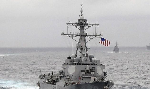 Tàu khu trục của USS Lassen của Mỹ. (Nguồn: Sputniknews)