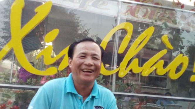 Nụ cười trở lại trên môi của ông Tấn sau khi ông được các cơ quan chức năng bãi bỏ các quyết định xử lý hình sự ôngẢnh: Công Nguyên
