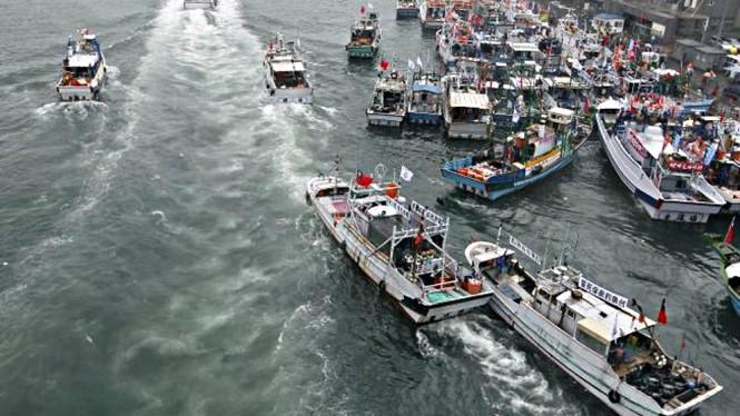 Tàu cá Đài Loan Reuters