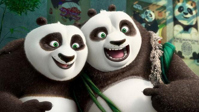 Ảnh trong bộ phim hoạt hình ăn khách Kung fu Panda phần 3 do DreamWorks Animation thực hiện - Ảnh: New York Times
