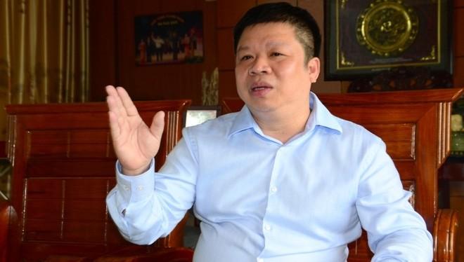 Ông Phạm Hoành Sơn, chủ tịch HĐQT Tập đoàn Hoành Sơn