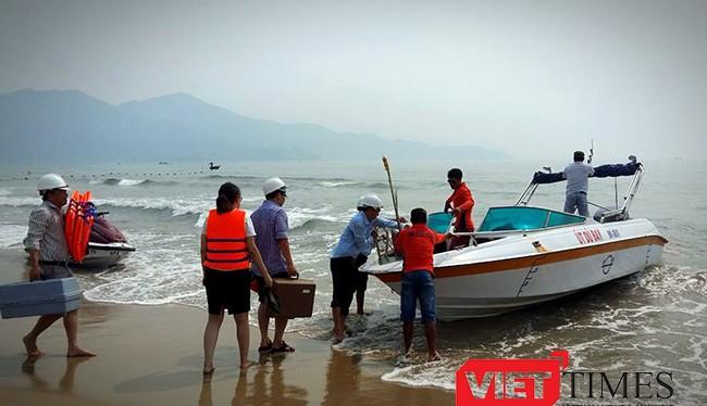 Chiều 28/4, Sở TNMT Đà Nẵng đã công bố chất lượng nước biển trên địa bàn an toàn, đảm bảo các hoạt động đối với ngư dân và du khách