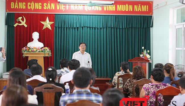 Chiều 29/4, tại Âu thuyền Thọ Quang (Đà Nẵng), lãnh đạo Sở NN và PTNT đã tổ chức đối thoại với ngư dân, tiểu thương, các nhà hàng kinh doanh mặt hàng thủy hải sản
