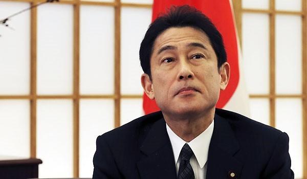 Ngoại trưởng Nhật Bản Fumio Kishida . Ảnh: Kyodo