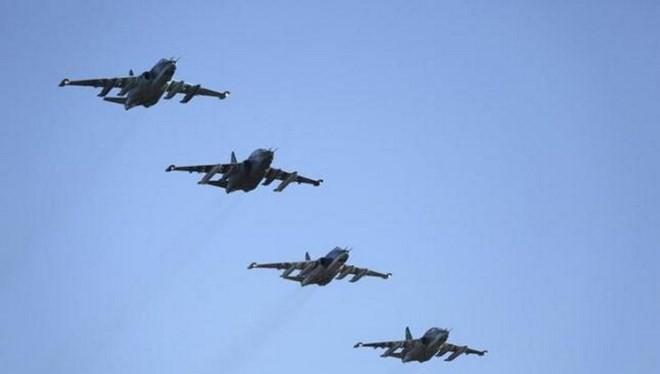 Máy bay tấn công Su-25 của Nga. (Nguồn: Reuters)