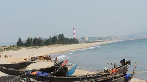 Khu vực biển phía Nam dự án Formosa ngày 5-5.