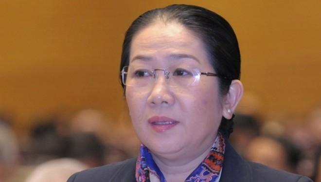 Bà Võ Thị Dung được bầu làm Phó bí thư Thành ủy TP.HCM.