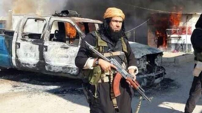Abu Wahib, thủ lĩnh sừng sỏ của IS ở Iraq đã bị tiêu diệt - Ảnh:AFP
