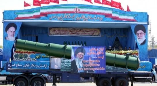 Ảnh: Một loại tên lửa đạn đạo của Iran