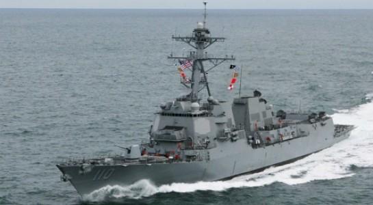 Tàu USS William P. Lawrence bị tàu chiến và tiêm kích Trung Quốc bám đuôi