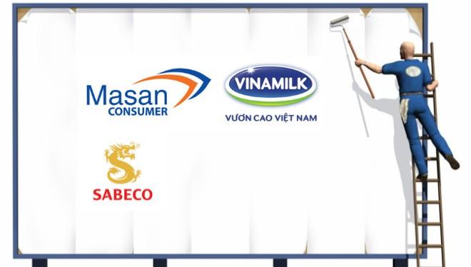 """Vinamilk, Sabeco, Masan đang """"ném"""" hàng nghìn tỷ đồng vào quảng cáo"""