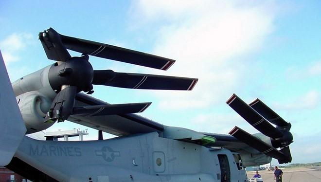 Máy bay V-22 Osprey của Boeing. Ảnh:Wilkipedia