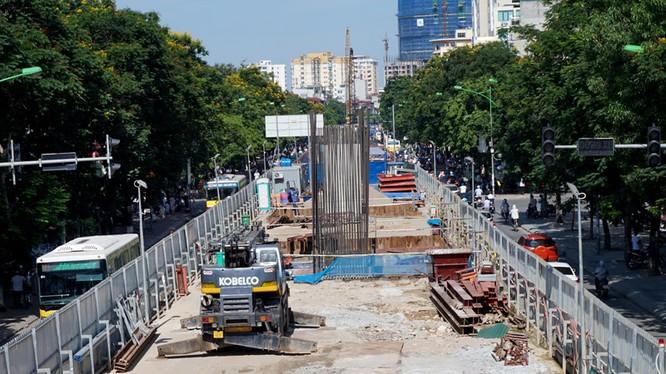 Dự án đường sắt đô thị tuyến Nhổn - Ga Hà Nội phải hoàn thành giải phóng mặt bằng trước 31/12/2016