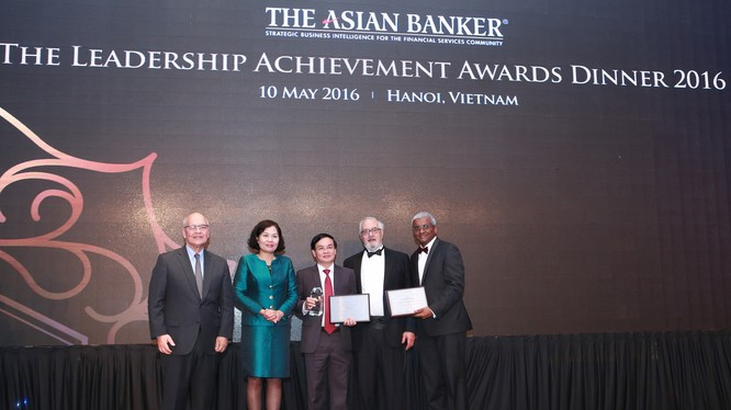 """Tổng Giám đốc MB được trao giải """"Thành tựu lãnh đạo"""" của Asian Banker"""