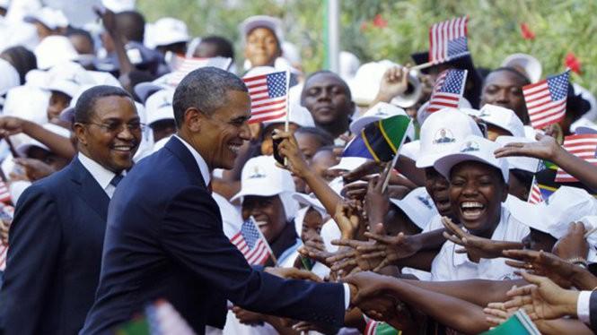 Ông Obama thăm châu Phi năm 2013 - Ảnh:New York Times