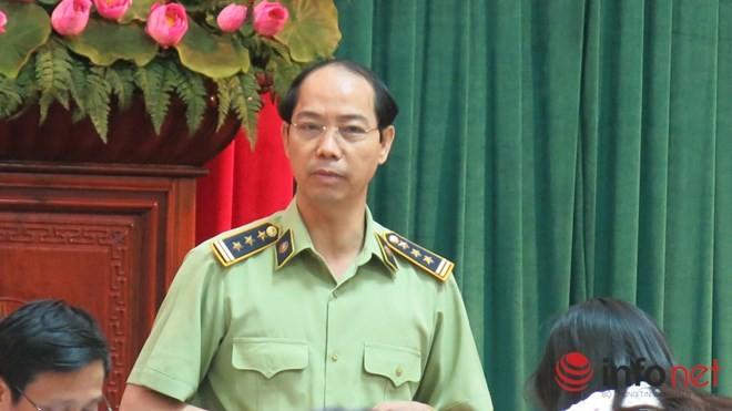 Ông Nguyễn Đắc Lộc, Chi cục phó Chi cục quản lý thị trường Hà Nội khẳng định quản lý thị trường làm đúng trong vụ xúc xích Vietfoods