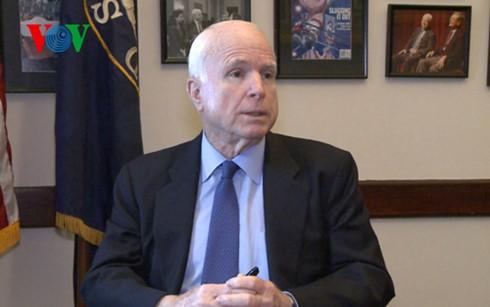 Thượng nghị sỹ Mỹ John McCain.