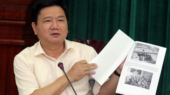 Bí thư thành ủy Đinh La Thăng - Ảnh: Tự Trung