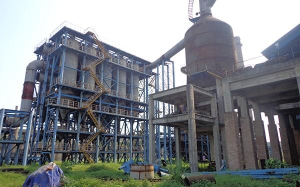 Phần còn lại hoang tàn của dự án Nhà máy Gang thép Thái Nguyên mở rộng sau khi đã ngốn 4.500 tỷ đồng