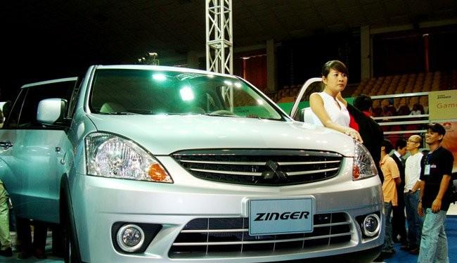 Một mẫu xe Zinger được Mitsubishi Việt Nam giới thiệu ra thị trường trước đây. Ảnh minh họa: Quốc Hùng