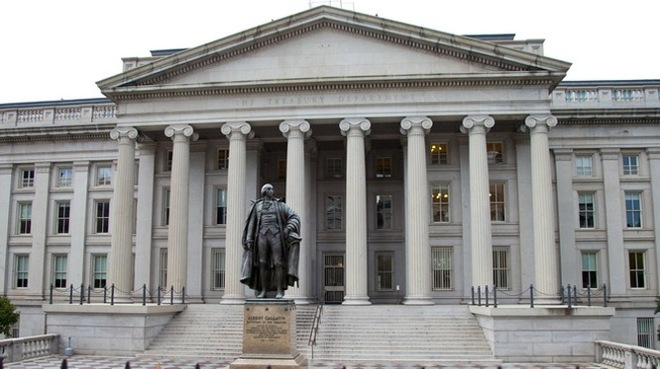 Trụ sở Bộ Tài chính Hoa Kỳ