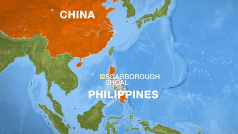 Tàu Trung Quốc xua đuổi tàu cá Việt Nam vào tránh gió tại bãi cạn Scarborough