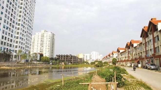 Khu đô thị Mỗ Lao, Hà Nội được điều chỉnh quy hoạch đến 23 lần. Ảnh: Như Ý.