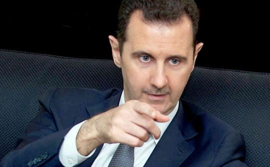 Tổng thống Syria Bashar al-Assad. Ảnh: Sky News