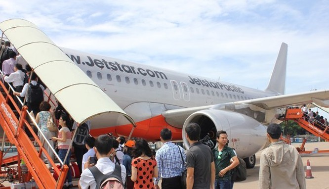 Các hãng hàng không muốn khai thác dịch vụ trong và ngoài nước với 10 tàu bay phải đáp ứng vốn điều lệ 700 tỉ đồng. Ảnh:TL