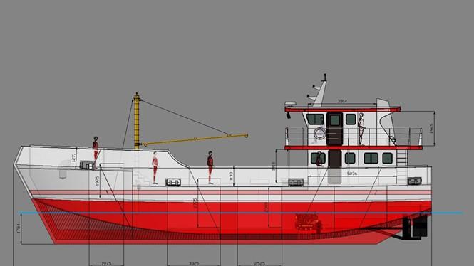 Thiết kế tàu bằng vật liệu PPC