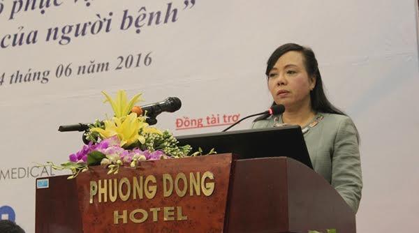 Bộ trưởng Y tế yêu cầu các bệnh viện rà soát lại nhà vệ sinh, khu xử lý rác thải để chuẩn hoá bệnh viện xanh-sạch-đẹp. Ảnh: Lê Hảo