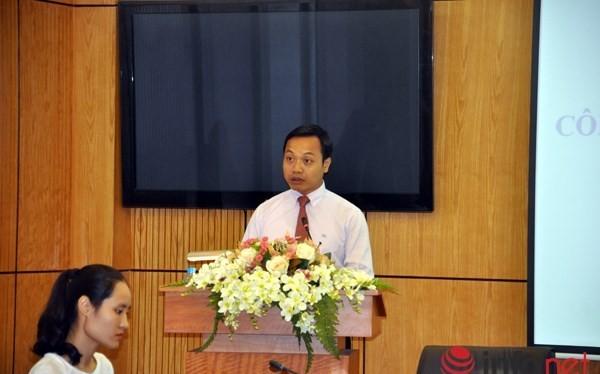 Thứ trưởng Trần Tiến Dũng, người phát ngôn của Bộ Tư pháp
