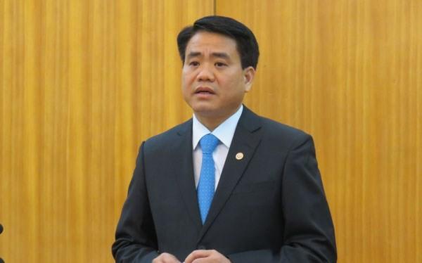 Chủ tịch UBND TP Hà Nội, Nguyễn Đức Chung